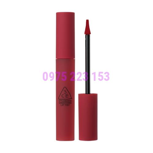 Son kem 3CE Smoothing Lip Tint ShameLess 4g - Màu Đỏ Lạnh