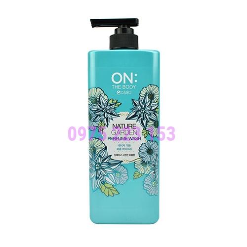 Sữa tắm hương nước hoa On The Body Nature Garden 900g