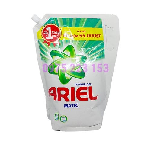 Túi nước giặt quần áo Ariel Power Gel Matic 2.3kg