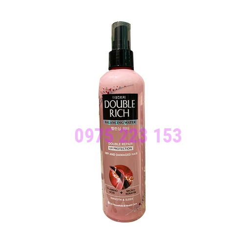 Nước xịt dưỡng tóc chăm sóc tóc hư  Double Rich Nutrition V 250ml