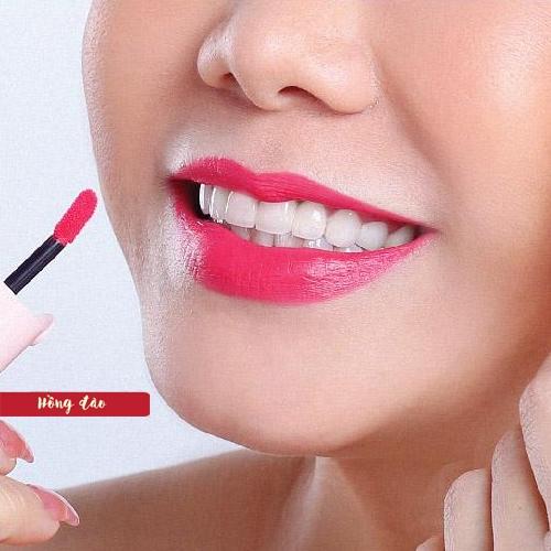 Son kem cho bé Elyza Teen Liquid Lipstick - Hương Thị màu Hồng Đào