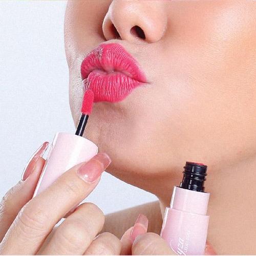 Son kem cho bé Elyza Teen Liquid Lipstick - Hương Thị màu Hồng Ánh Kim có nhũ