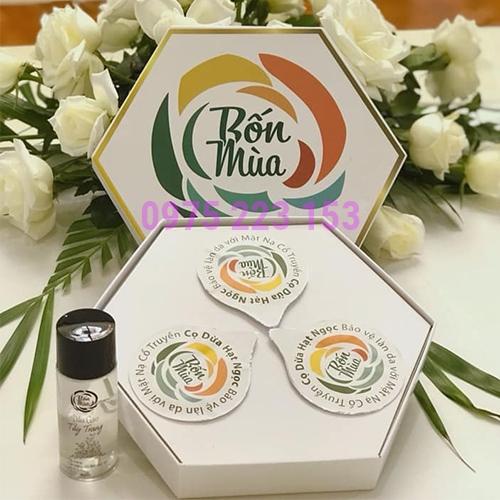 Mặt nạ cổ truyền dưỡng da Cọ Dừa Hạt Ngọc Thiên Nhiên Việt