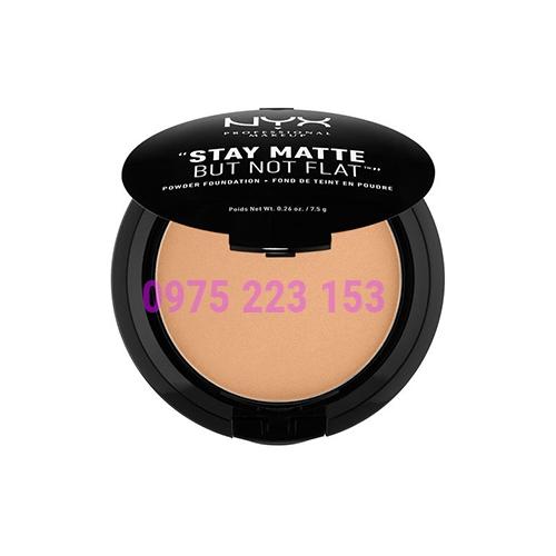 Phấn nền dạng kem NYX Stay Matte But Not Flat Powder Foundation 7.5g