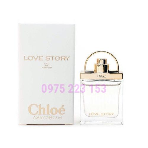 Nước hoa nữ  Chloe Love Story EDP 7.5ml