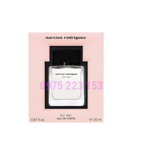Nước hoa nữ Narciso Rodriguez For Her Eau De Toilette 20ml