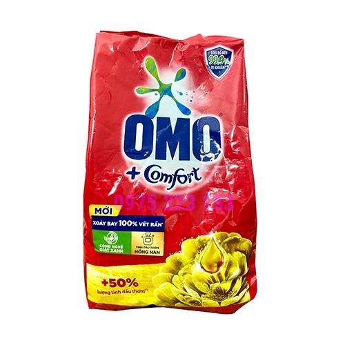 Bột giặt Omo hương Comfort tinh dầu thơm nồng nàn 720gr