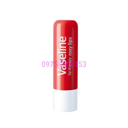 Son dưỡng môi hồng xinh Vaseline Rosy Lips Stick 4.8g