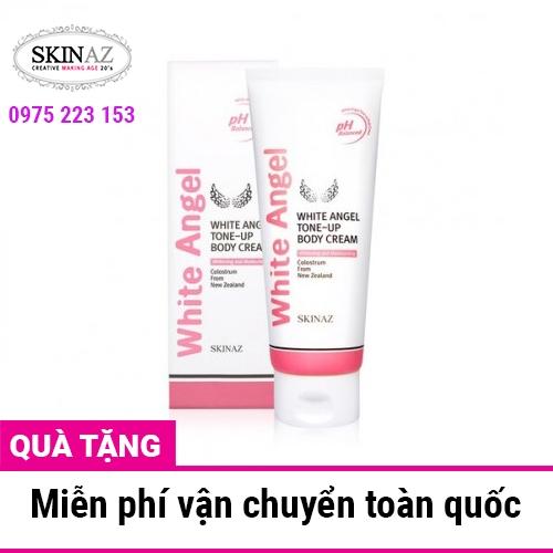 Kem dưỡng trắng toàn thân Skinaz White Angel Tone Up Body Cream 200ml