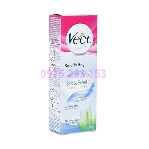 Kem tẩy lông Veet dành cho da nhạy cảm 50ml