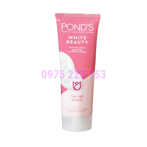 Sữa Rửa Mặt Trắng Hồng Ponds White Beauty 100g