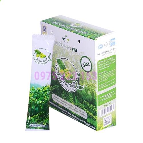 Cà phê xanh giảm mỡ Thiên Nhiên Việt hộp 10 gói