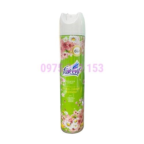Bình xịt phòng hương nước hoa Farcent Cherry Blossom 320ml