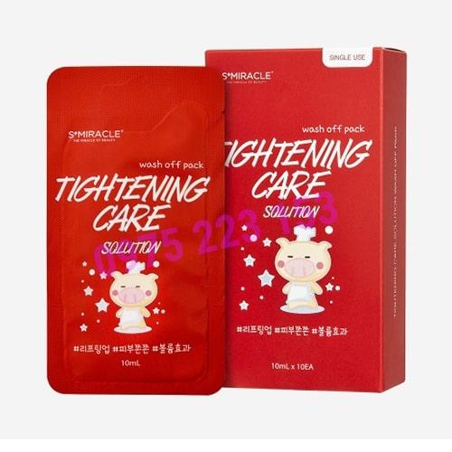 Hộp 10 miếng mặt nạ chống lão hoá da S Miracle Tightening Care