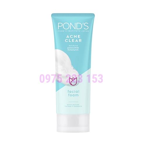 Sữa rửa mặt ngăn ngừa mụn Ponds Acne Clear 100g
