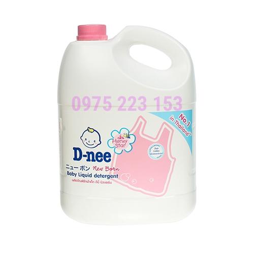 Nước giặt quần áo em bé DNee Honey Star  3000ml
