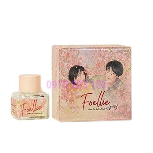 Nước hoa vùng kín Foellie Eau De Bonbon Inner Zipcy Edition Perfume 5ml