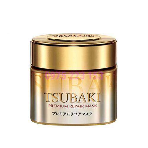 Mặt nạ ủ tóc phục hồi hư tổn Tsubaki Premium Repair Mask 180g