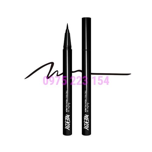 Bút kẻ mắt Merzy The Firrst Pen Eyeliner P1 Oreo 0.5gr