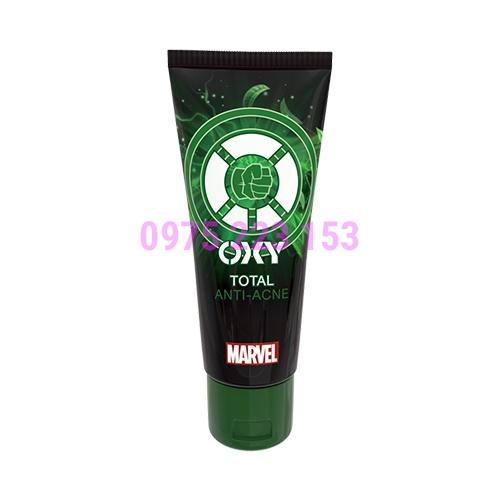 Kem rửa mặt trà xanh sạch mụn dịu da Oxy Total Acnes Wash Smasher 100g