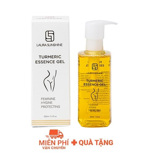 Dung dịch vệ sinh phụ nữ Laura Sunshine Turmeric Essence Gel 220ml -Nhật Kim Anh