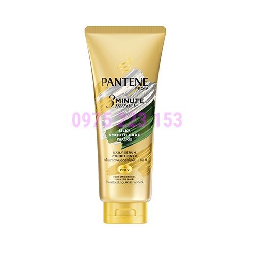 Kem xả mềm tóc Pantene Pro-V 3Minute Miracle Silky Smooth Care 180g