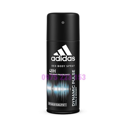 Xịt khử mùi Adidas Deo Body Spray Dynamic Pulse 150ml