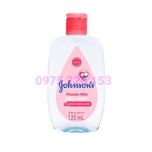 Nước hoa Johnsons Baby Cologne Power Mist - Hương phấn 125ml