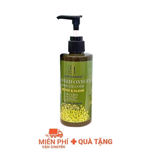 Tắm trắng thải độc tinh chất tảo biển Laura Sunshine Seaweed Oxygen Body 200ml