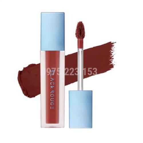 Son kem Black Rouge Air Fit Velvet Tint Ver 6 - A32 Nâu Đất Trendy 37.3g