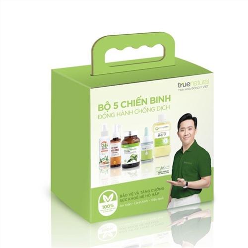 Combo 5 Sản phẩm chăm sóc sức khỏe True Natural - Đồng hành cùng dịch bệnh