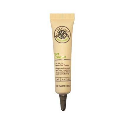 Kem Trị Mụn Và Mờ Vết Thâm Clean Face Spot Corrector TheFace Shop