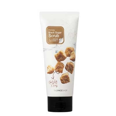 Kem Tẩy Tế Bào Chết Honey Black Suger Scrub The Face Shop