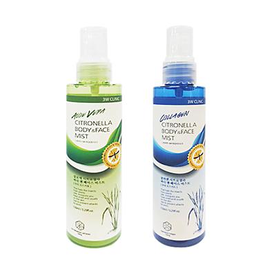 Xịt Khoáng Chống Muỗi 3W CLINIC Citronella face & Body Mist