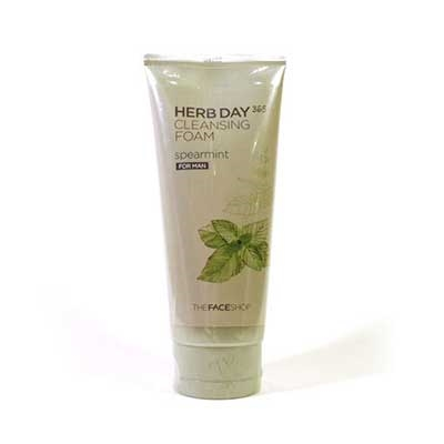 Sữa Rửa Mặt Nam Herb Day 365 Cleansing Foam Spearmint  TheFace Shop