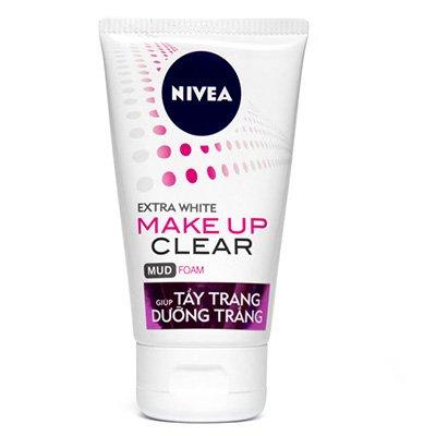 Sữa Rửa Mặt Tẩy Trang Và Ngừa Mụn Nivea Anti Acne Make Clearn 50g