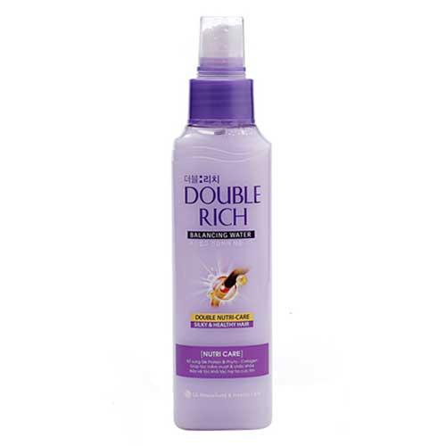 Nước xịt dưỡng tóc mềm mượt Double Rich 120ml