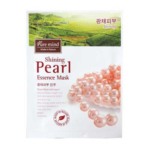 Mặt nạ ngọc trai Pure Mind Shining Pearl Essence Mask 23ml