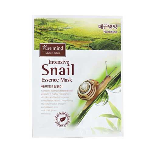 Mặt nạ  Pure Mind Intensive Snail Essence Mask 23 ml