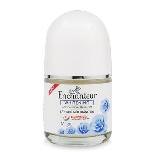 Lăn khử mùi trắng da Enchanteur White Magic  20ml