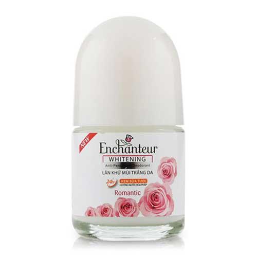 Lăn khử mùi trắng da Enchanteur  White Romantic  20 ml