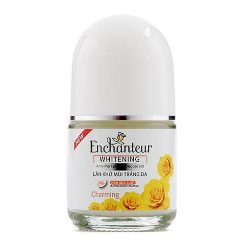 Lăn khử mùi trắng da Enchanteur White Charming 20ml