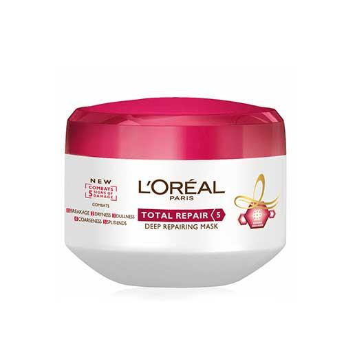 Kem ủ phục hồi tóc hư tổn L'oreal Paris Elseve Total Repair 5 200ml