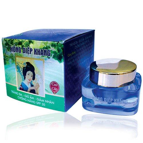 Kem trắng da giữ ẩm giảm nhăn chống nắng spf 30 Hồng Diệp Khang cao cấp 30g
