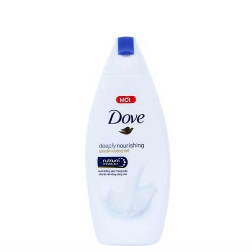 Sữa tắm dưỡng thể Dove Deeply Nourishing 180g
