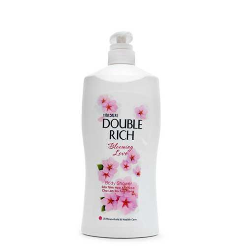 Sữa tắm hoa anh đào Double Rich Blooming Love 350g