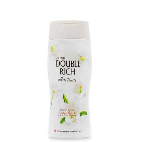 Sữa tắm tinh chất hoa LiLy Double Rich White Purity 200g