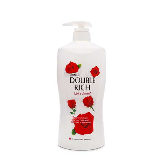 Sữa tắm hoa hồng Double Rich Evas Secret 550g