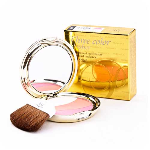 Má hồng 3 màu Prorance Three Color Blusher-301