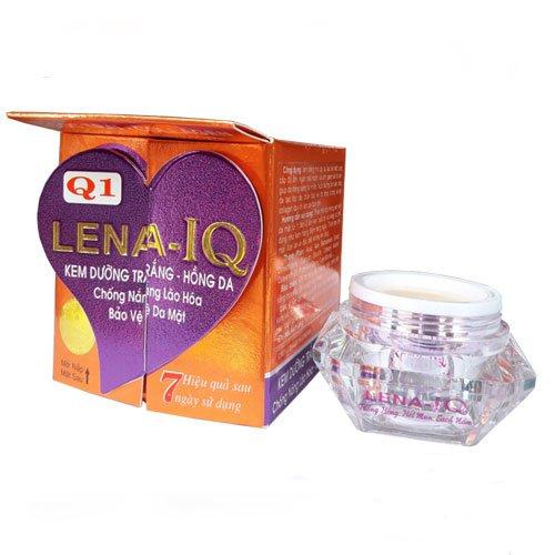 Kem dưỡng trắng hồng da chống nắng lão hóa bảo vệ da Q1 LENA IQ